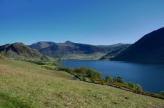Crummock Water, Rannerdale, and High Stile range. From our walk http://www.walklakes.co.uk/walk_30.html