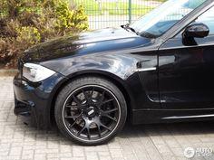 BMW 1 series. Black BBS RIMS.