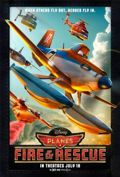 Check out the new Disney's Planes: Fire & Rescue poster. In theatres this summer on July 18!