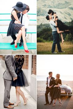 What to Wear for Your Engagement Shoot 30 Stylish Outfit Ideas for Engagement Photos You'll Love - Stylish Black