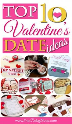 So many fun date ideas!! Most can be done at home!