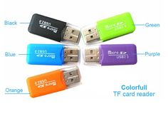 [Visit to Buy] Portable Colorful High Speed USB 2.0 Micro SD T-Flash TF Memory Card Reader,Microsd Transflash to USB flash drive Adapter #Advertisement