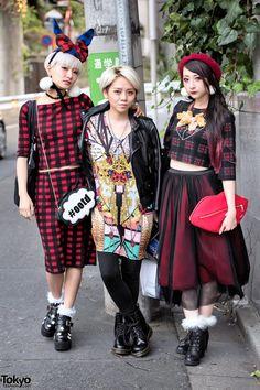 Yuri Nakagawa, Emi Tiger & RinRin Doll