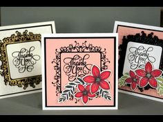 Introducing the Flowers and Frames Stamp TV Kit - YouTube
