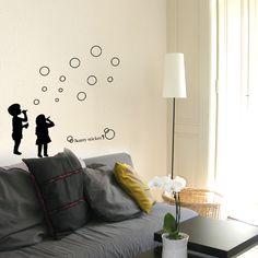wallsticker People Wallpaper interior Design