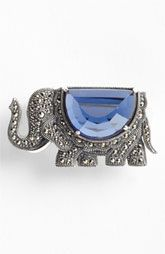 Judith Jack 'Bejeweled Brooches' Elephant Pin