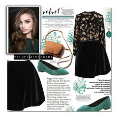 """Velvet ...."" by zoey-heart ❤ liked on Polyvore featuring Sugarhill Boutique, Erdem, Office, Tacori and velvet"