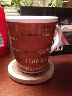 Coffee love cup. Got as a Christmas gift years ago. Also has a dessert plate that matches.