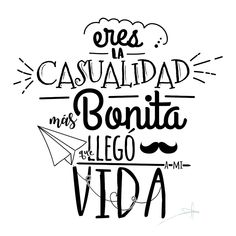 Make it Mine& Tower Box™ Boyfriend Anniversary Gifts, Boyfriend Gifts, Mr Wonderful, Frases Tumblr, Love Phrases, Lettering Tutorial, Love You, My Love, Spanish Quotes