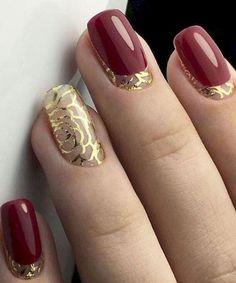 Super Cute Wedding Nail Art Designs for An Ideal Look Simple Wedding Nails, Wedding Nails Design, Hot Nails, Hair And Nails, Best Nail Art Designs, Luxury Nails, Elegant Nails, Nail Art Hacks, Beautiful Nail Art