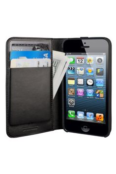 Real professional looking iPhone 5 wallet case. I'm digging it.