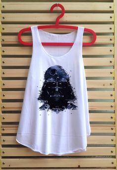 star wars darth vader shirt darth vader tank top by TCFABRIC, $14.99