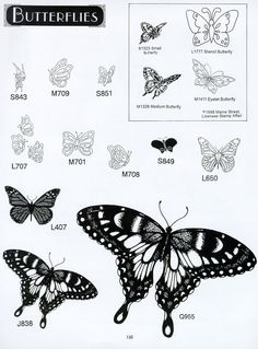 Butterfly Rubber Stamps Pg 1- Big Discounts