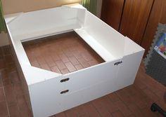 Whelping Box Construction Plans Dog Whelping Box, Whelping Puppies, Welping Box, Dog Birth, Baby Recipes, Dog Rooms, Dog Things, Siberian Huskies, Puppy Care