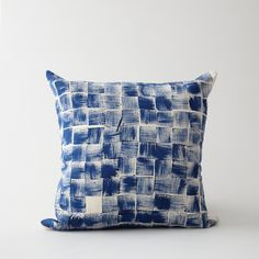 Pom by Pomegranate Hand Printed Block Pillow | Home | Steven Alan
