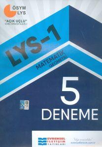 Evrensel İletişim Yayınları LYS-1 Matematik Geometri 5 Deneme Sınavı