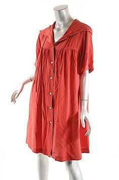 b49145f700f DKNY short dress Red Hooded on Tradesy Hooded Dress