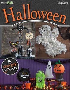 Halloween Craft Ideas 15 Easy DIY Projects | AllFreeHolidayCrafts.com