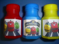 Chuggington Birthday Party Favors Pack of 12 Bubbles   eBay