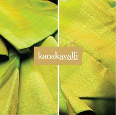 Fashionistas have been sporting neon for that added style and the Kanjivaram now joins the party. This shade of the fresh green brings in this fun style to the Kanjivaram. This gorgeous colour, woven in silk takes on a luminosity of its own. The smart choice of adding a rising border in zari using angular motifs makes this Kanakavalli sari a perfect choice for style divas.