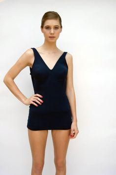 Vintage 1960s Swimsuit  Catalina  Navy by WildHoneyPieVintage, $45.00  LOVE!