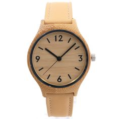 2015 Wooden Watches For Woman Gift With Casual Japanese Movement Quartz Bamboo With Gift Box #Affiliate
