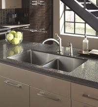 Karran Undermount Sinks That Are Designed To Be Used With Laminate  Countertops