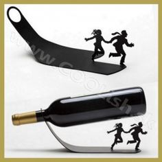 And our wine holder is suitable for most red wine bottles, you also could send it to your family or friends as a great gift. Our wine holder is made of high-quality stainless steel material, safe and durable to use. Bar Stand, Metal Rack, Wine Bottle Holders, Stainless Steel Material, Sheet Metal, Metal Working, Holiday Gifts, Barware, Ebay