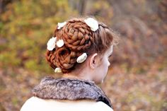 Braided updo - Louvrianne
