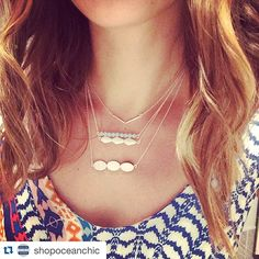 Northshore ladies! Stock up on your favorite #lovewell #beadbars this summer at Ocean Chic Boutique in Salem ☀️ #Repost @shopoceanchic with @repostapp. ・・・ In love with these new #layeringnecklaces....handmade right here in MA (Wakefield)!! Lots of styles now out on the floor...will be up online soon! #workingsolo #limitedresources #selfiemode @lovewell_