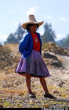 Cajamarca, northern Peru.