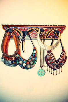 Jewellery- love that hanger
