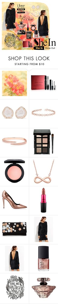 """""""Velvet Rose"""" by wendy-collins-1 on Polyvore featuring Marc Jacobs, Kimberly McDonald, Allurez, Anne Sisteron, Bobbi Brown Cosmetics, MAC Cosmetics, Alexander Wang, NARS Cosmetics and Lancôme"""
