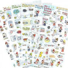 Pony Brown My Little Friend Planner Stickers Set (◕ᴥ◕) Kawaii Panda - Making Life Cuter