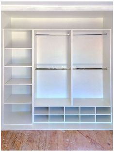 Bedroom Closet Design, Master Bedroom Closet, Closet Designs, Diy Bedroom, Small Closet Design, Bedroom Closet Storage, Walk In Robe Designs, Girls Bedroom, Bedroom Closets