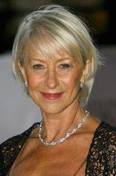 Hairstyles for Women Over 50 | Helen Mirren Hairstyles -- Photo of Helen Mirren Hairstyle