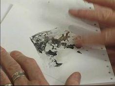 Encaustic Wax Painting for Beginners : Using Kleenex for Encaustic