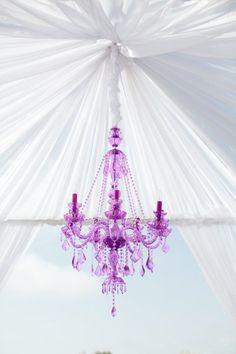 purple #chandelier