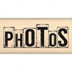 """Timbro legno Florileges - """"Des"""" Photos"""