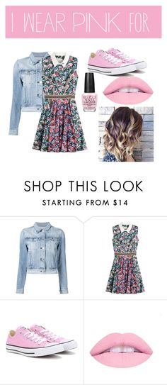 """""""Pink chic"""" by marissam1021 ❤ liked on Polyvore featuring 3x1, Mary Katrantzou, Converse and OPI"""