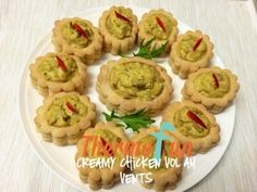 Recipe Creamy Chicken Vol au Vents - ThermoFun by leonie, learn to make this recipe easily in your kitchen machine and discover other Thermomix recipes in Baking - savoury. Light Recipes, My Recipes, Snack Recipes, Cooking Recipes, Snacks, Recipies, Chicken Vol Au Vent Recipe, Party Canapes, Decadent Food