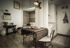 35 m²: un concentrato di shabby chic a Napoli. #shabbystyle #case #arredamento  https://www.homify.it/librodelleidee/261049/35-m-un-concentrato-di-shabby-chic-a-napoli