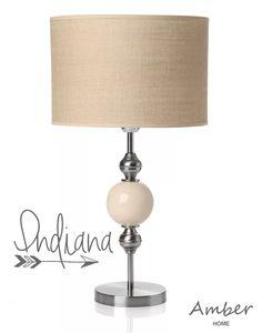 lampara moderna con bochas de ceramica, modelo indiana! Chandelier Lighting, Home Accessories, Table Lamp, Lights, Furnitures, Indiana, Design, Home Decor, Model