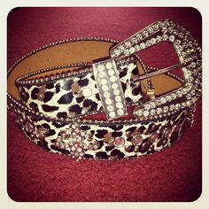 Leopard Studded Belt  ❤