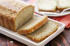 This homemade gluten free bread is made with almond flour. It's soft, fragrant, and makes a great canvas for sweet or savory toppings.  When making homemade gluten free bread, it is important however to adjust our expectations. The yeasty aroma and gluten-induced fluffiness that we love about traditional bread cannot be achieved without, well, yeast and gluten, so this is more of a quick bread that fills the need (if you still have it) to make a sandwich or to have a slice of bread for…
