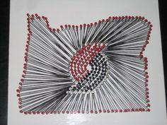 Rip City String Art