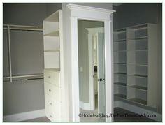 Great share walk in closet design plans