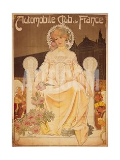 Poster of Car Club de France Art Print by Privat Livemont at Art.com