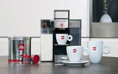 Illy introduces coffee and espresso single serve system http://www.foodbev.com/news/illy-introduces-coffee-and-espresso-single-serve-system/