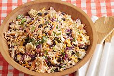 Ramen noodles, meet taco salad! We've checked out your profiles and know you two will really hit it off in this potluck-perfect dish.